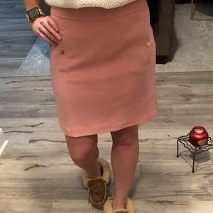 Jcrew pink skirt new with tags size 4